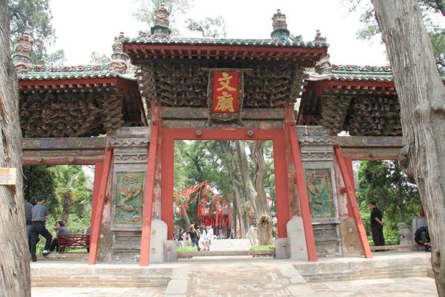 西北最大、最老的孔庙-韩城文庙