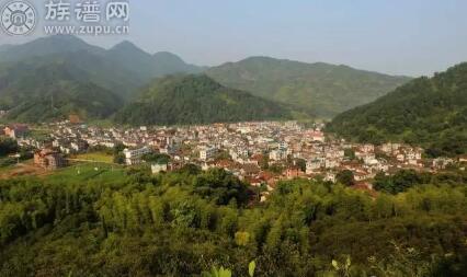 江山市张村被评为浙江省历史文化名村