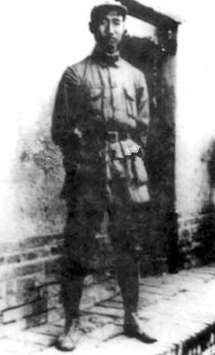工农红军指挥员易汉文