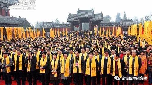 中国十大最有影响力的祭祖大典