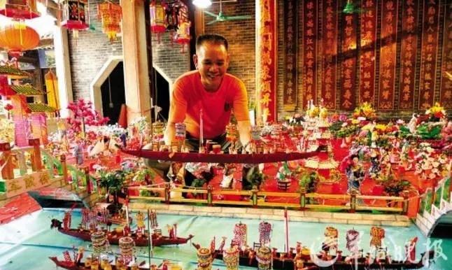 梁氏传奇!这个村落保留中元节唯一风俗500多年